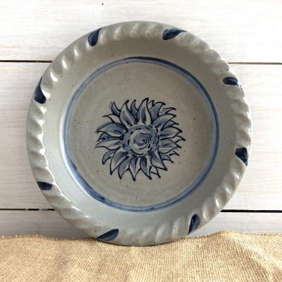 Pumpkin pie plate stoneware