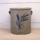 1 Gallon Crock - Wheat