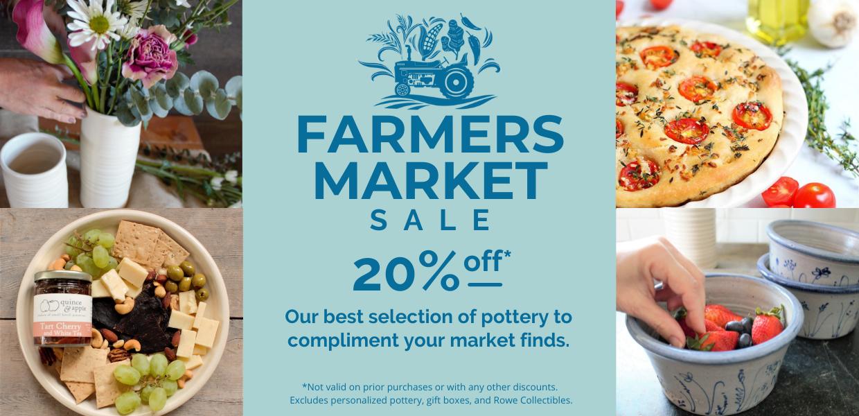 Farmers Market Sale 20% off