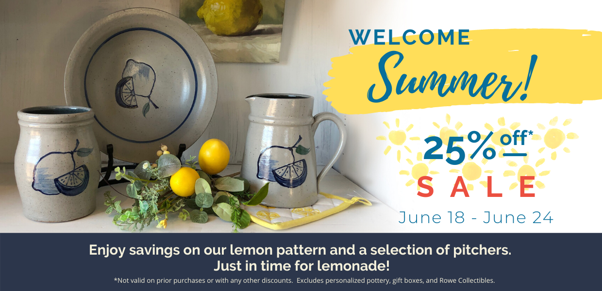 25% Lemon Pattern and selected pitchers