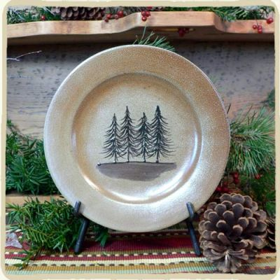 Northwoods Salad Plate- 2 Available Patterns