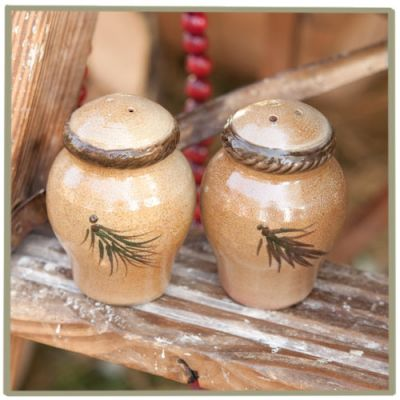 Northwoods Salt and Pepper Shakers