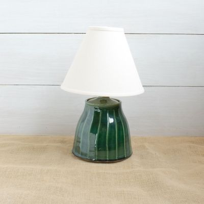 Ridged Acorn Lamp- (3 Colors Avail)