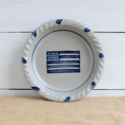 Pie Plate - LIMITED EDITION Flag Pattern