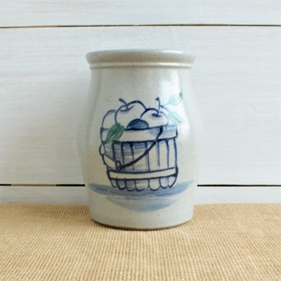 Utensil Jar - Apple Basket