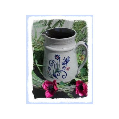 Spring Pitcher- Assorted Patterns