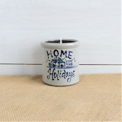 Candle Crock- Home for the Holidays