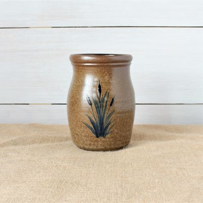 Utensil Jar- Cattails