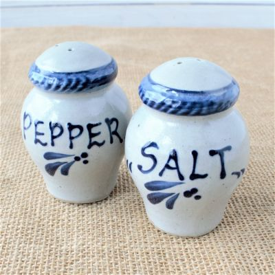Salt & Pepper Set- Classic Cambridge