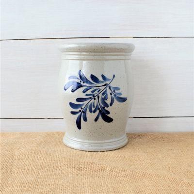 Utensil Jar- Teaberry