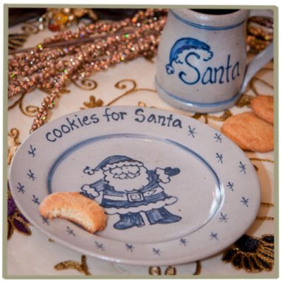 Cookies for Santa Personalized Plate & Mug Set