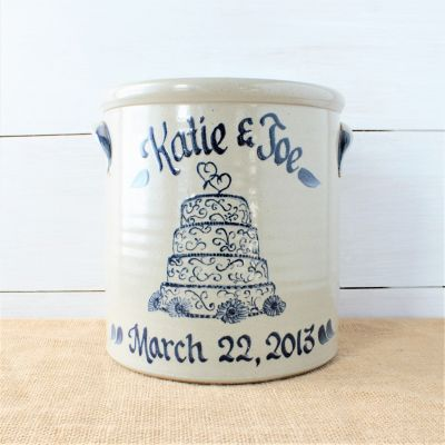 2 Gallon Crock- Customize your Design!