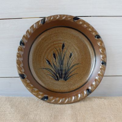 Pie Plate - Cattails