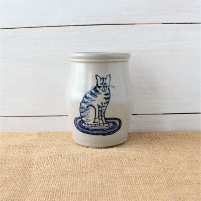 Utensil Jar - Cat