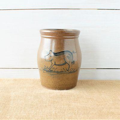 Classic Utensil Jar- Pig