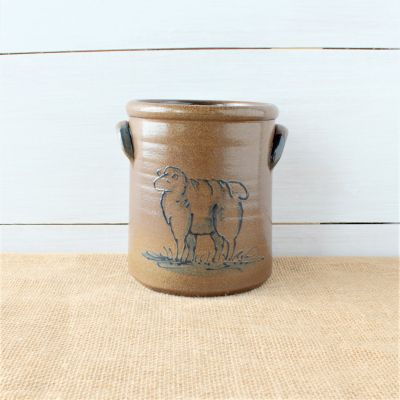 Classic 1/2 Gallon Crock- Sheep