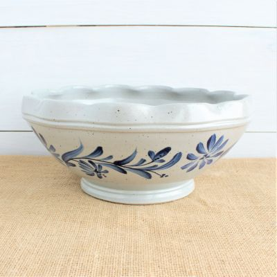 2019 Historical - Large Scalloped Serving Bowl