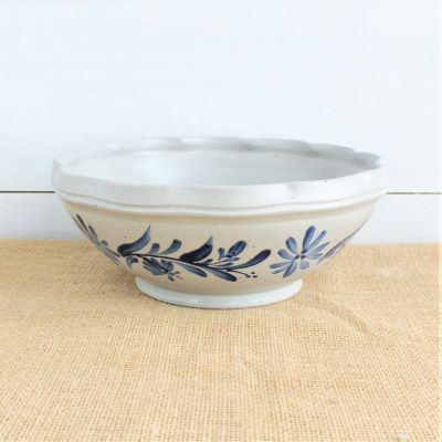 2019 Historical - Small Scalloped Serving Bowl