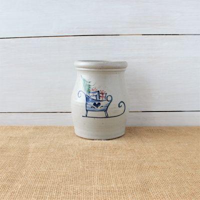 Classic Utensil Jar- Sleigh Ride