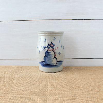 Classic Utensil Jar- Snowman
