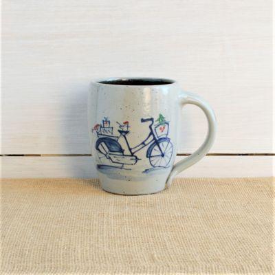 NEW Holiday Mug - Holiday Bike