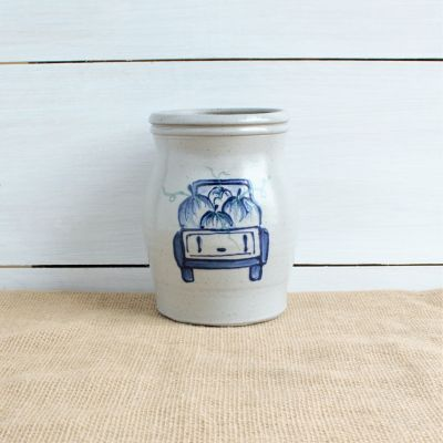 Fall Utensil Jar - NEW Off to the Orchard