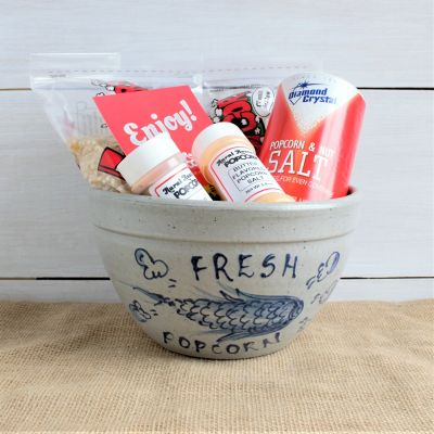 June Gift Box - Popcorn Bowl with Rural Route 1 Popcorn