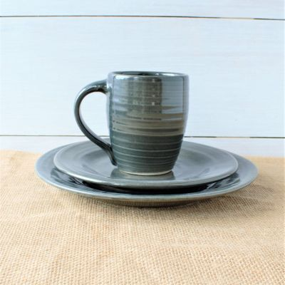 Farmhouse Ridges Gray Place Setting
