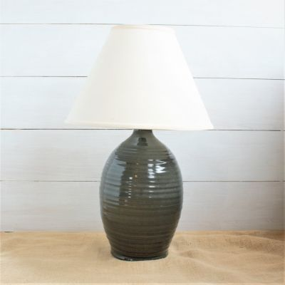 NEW Farmhouse Ridges Large Lamp- (4 Colors Avail)