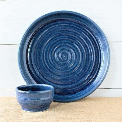 Farmhouse Ridges Chip & Dip Set- (4 Colors)