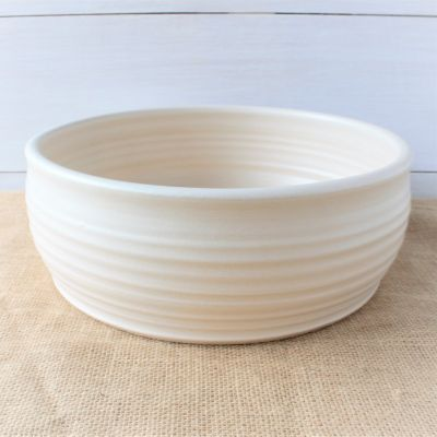 Farmhouse Ridges Serving Bowl- (4 Colors)