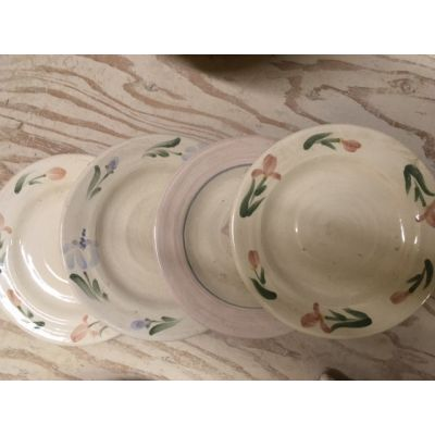 """Rowe Find"" Kily Collection Set of 4 Salad Plates"