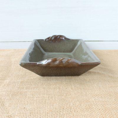 Sandstone Rectangular Baker- Cerulean Blue