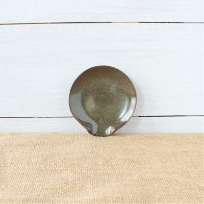 Sandstone Spoon Rest- Cerulean Blue