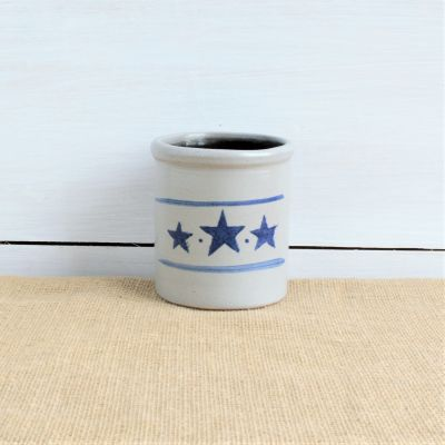 1 1/2 Pint Candle Crock - LIMITED EDITION Star Pattern