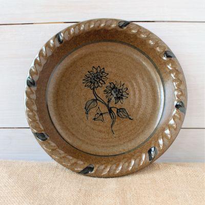 Pie Plate- Sunflower