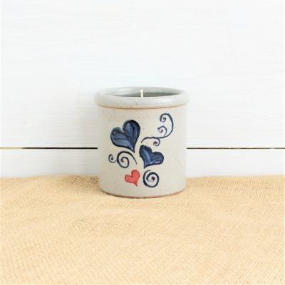 NEW Candle Crock - Valentine Hearts