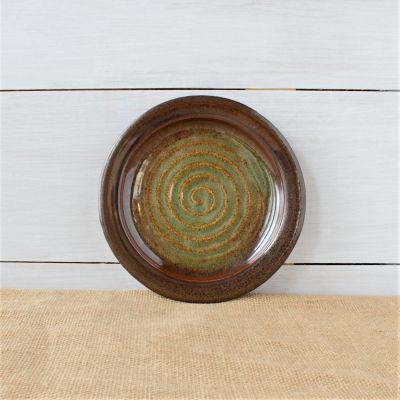Sandstone Salad Plate- Woodland Sage