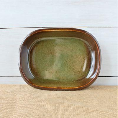 Sandstone Small Oval Baker- Woodland Sage