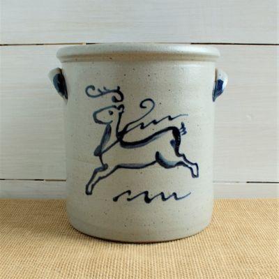 1 Gallon Crock - 45th Anniversary Reindeer