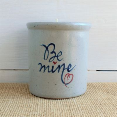 NEW Be Mine Candle Crock