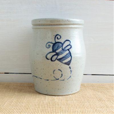 NEW Spring Utensil Jar - Bumblebee