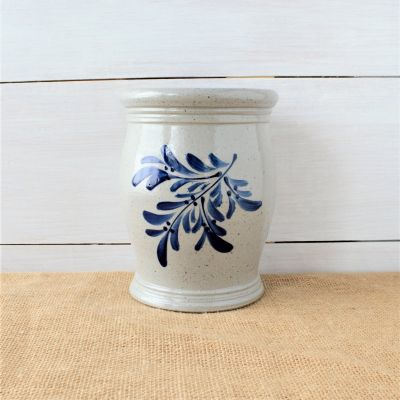 Utensil Jar- Teaberry