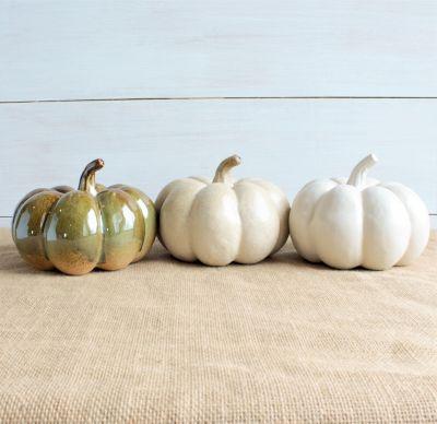 Fall Collectible - Glazed Pumpkin