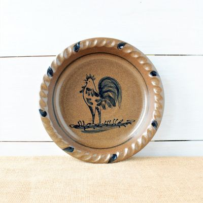Classic Pie Plate- Rooster