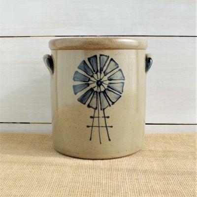 1 Gallon Crock - Windmill