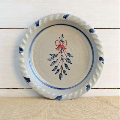Pie Plate - Mistletoe