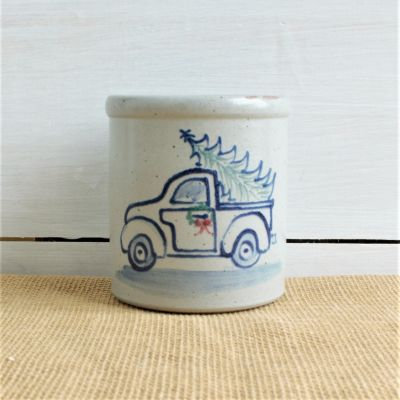 NEW Candle Crock - Holiday Truck