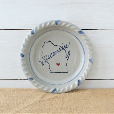 Home State Custom Pie Plate