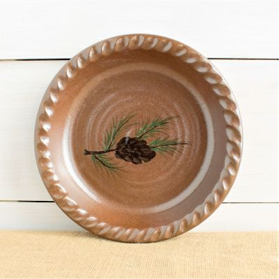 Northwoods Pie Plate (2 Available Patterns)